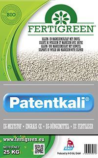 Patentkali samenstelling
